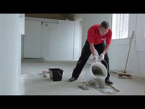 How To Patch A Concrete Floor